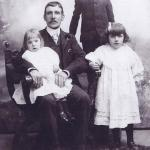 William Brewer and children